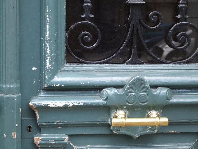 voordeur Parijs