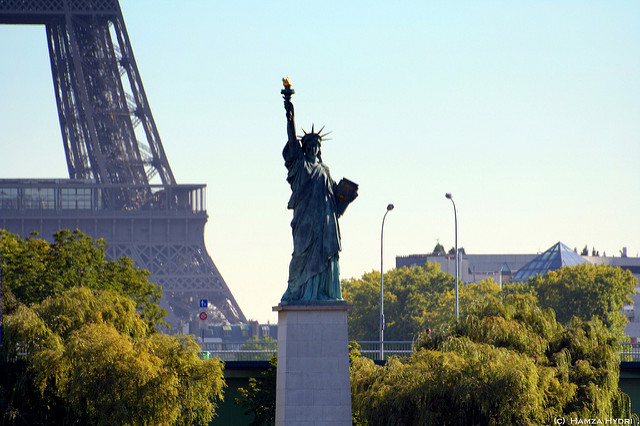 amerika in Parijs adressen Statue of Liberty