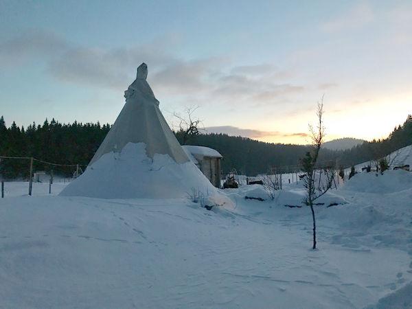 Glamping Jura Winter Zomer Berbois