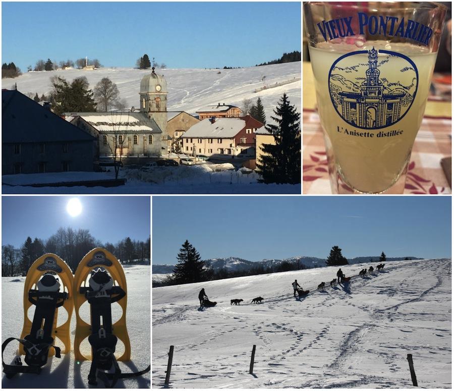 Haut-Jura Sainte-Claude: winterdorpjes in Frankrijk