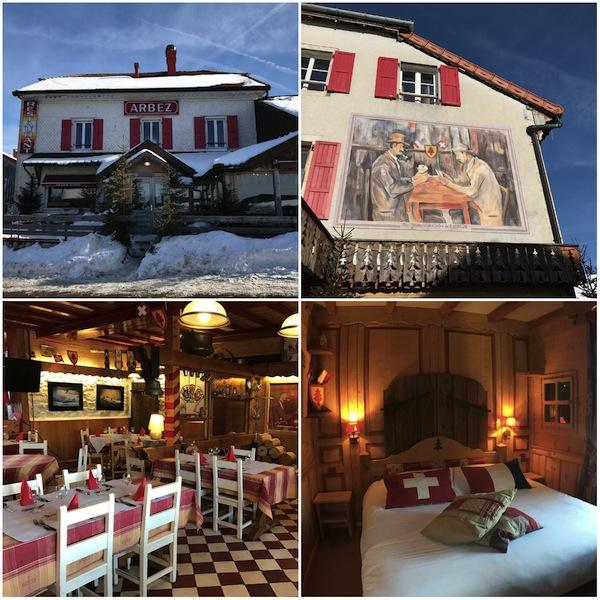 Hotel Arbez Franco-Suisse Jura