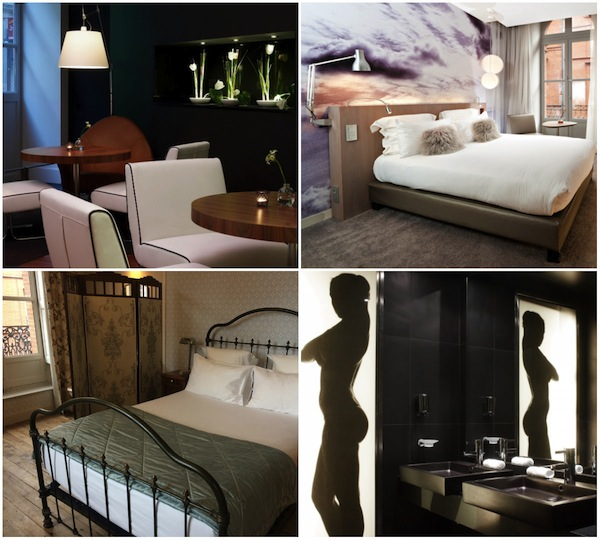 Hotel le Grand Balcon in Toulouse, designhotel in centrum