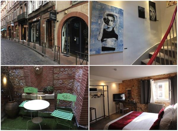 Hotel des Arts in Toulouse, leuk en betaalbaar hotel
