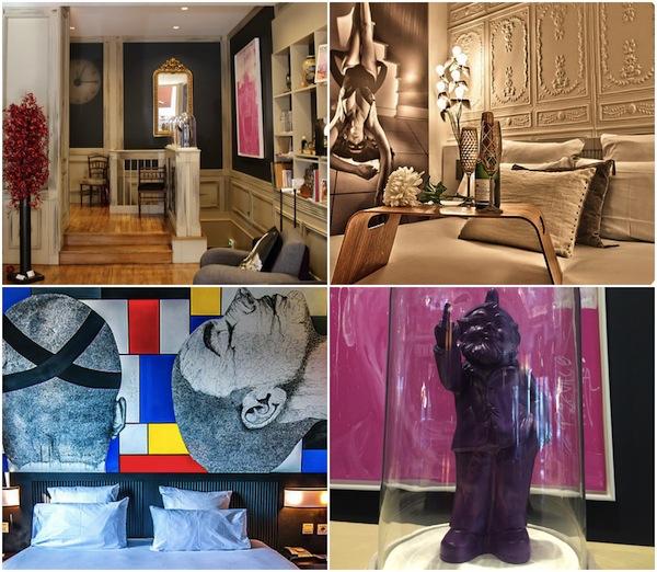 Hotel des beaux Arts in Toulouse, hotel met moderne kunst