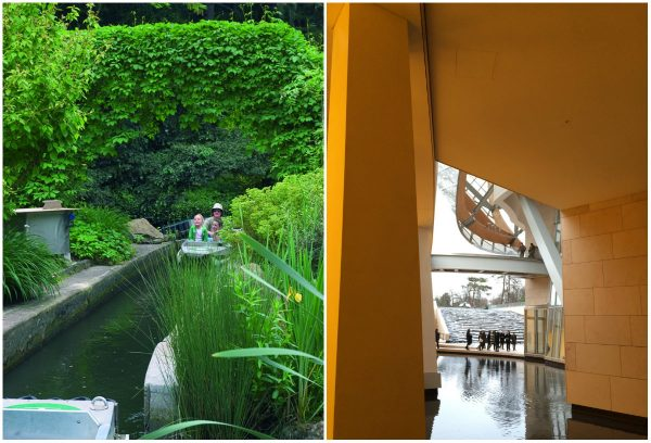 Jardin d'Acclimatation en Musee Vuiton