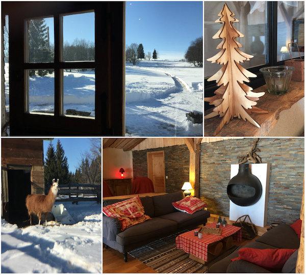 Les Loges du Coinchet - Jura gebergte-winterbeleving