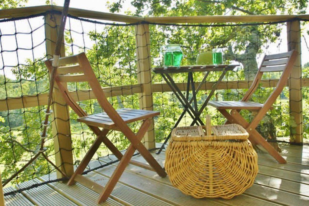 Boomhut Bretagne duurzame vakanties France ecotours