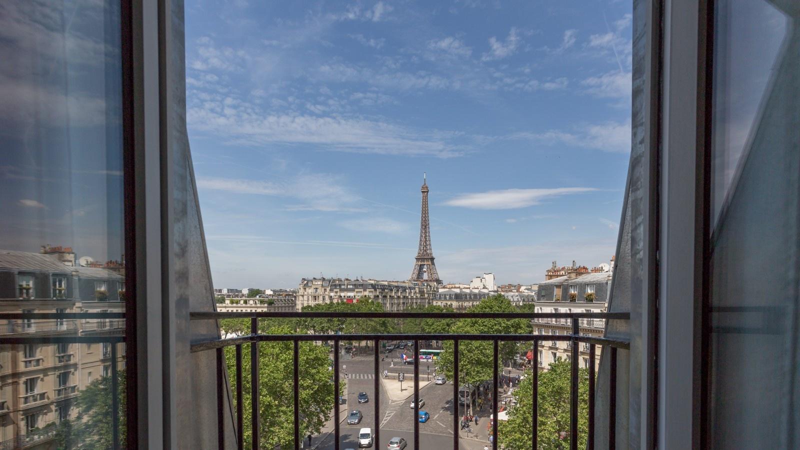 Leuk Hotel Met Uitzicht Op De Eiffeltoren Frankrijk Nl