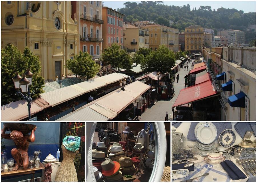 Brocante en antiek markten in Nice