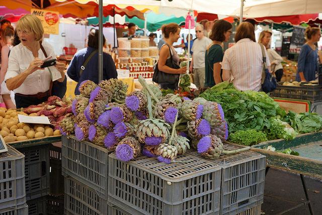 Provençaalse markt in Aix