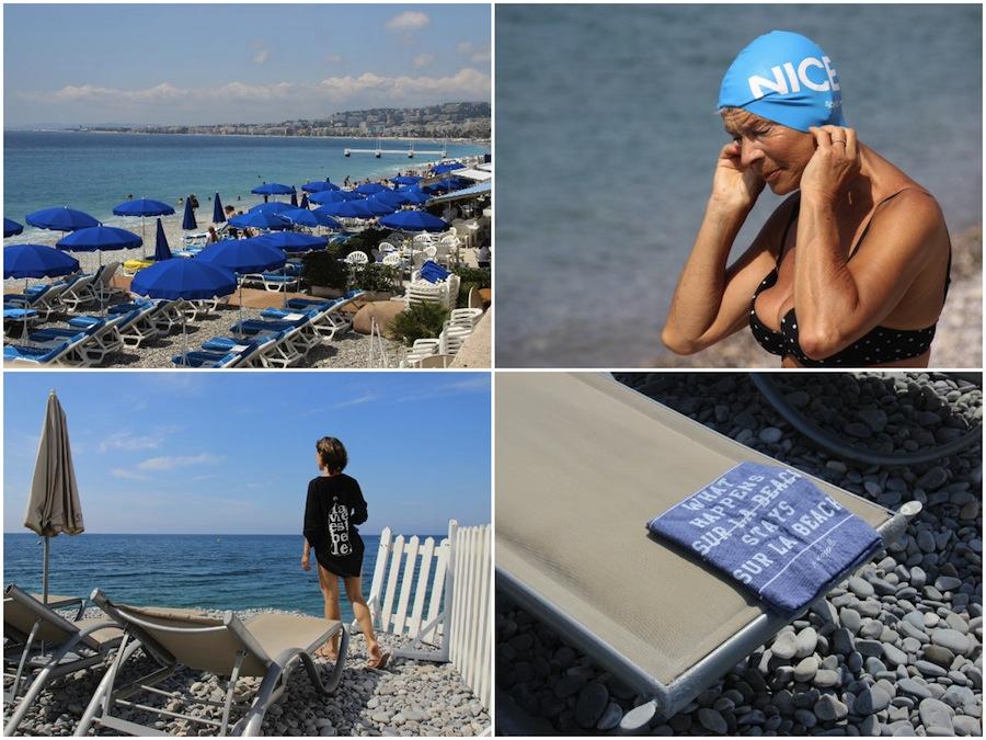 Citytrip Nice: strand van Nice op Promenade des Anglais