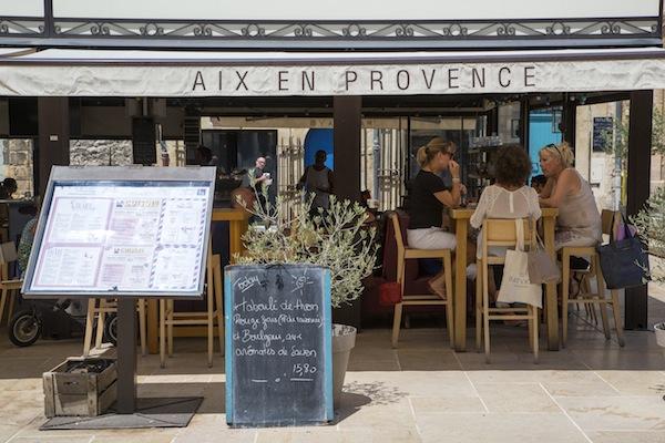 Genieten van leuke eetadressen in Aix