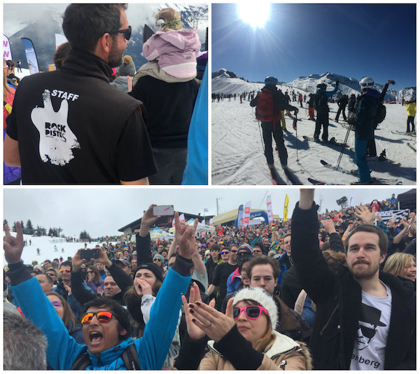 Muziekfestival Rock the piste in Portes du Soleil