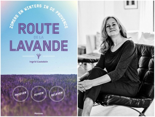 Boek Route de la Lavande Ingrid Castelein