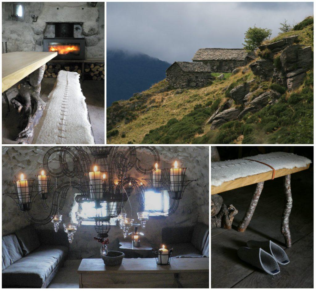 Auvergne slaapadressen in de natuur buron Niercombe