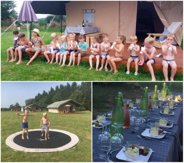 Glamping op Domaine St Esselin