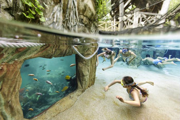 Center Parcs Bois aux Daims Vienne zwembad