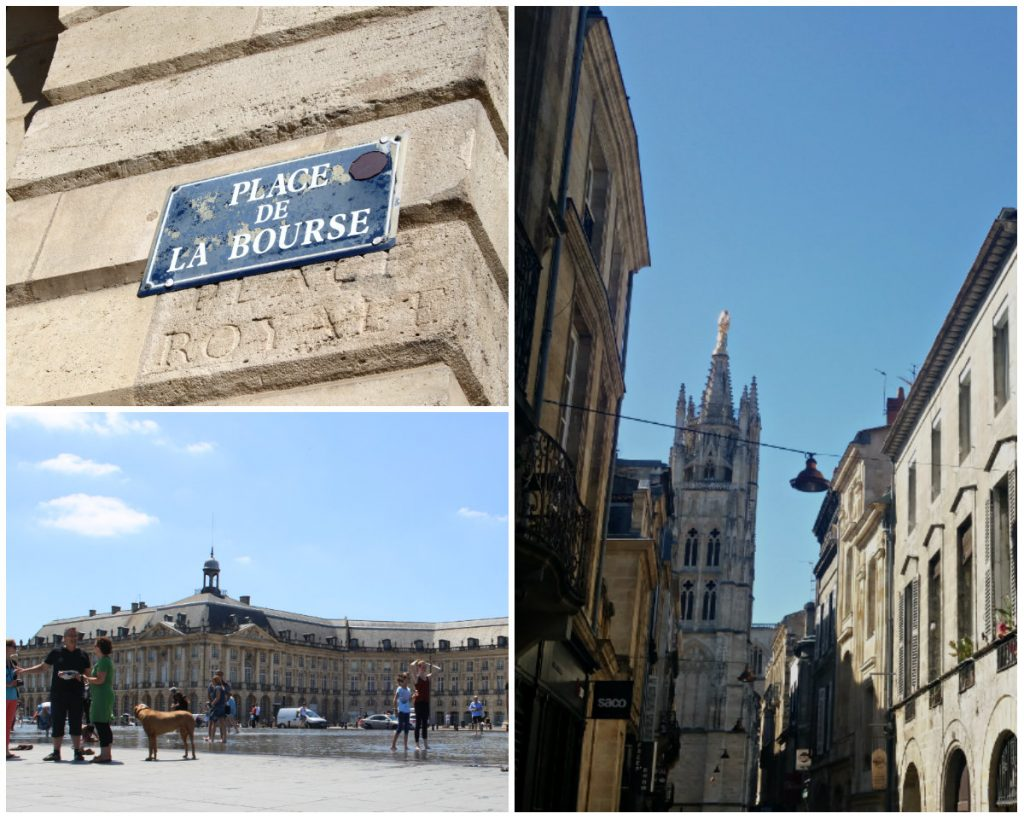 Bordeaux monumenten bezienswaardigheden Unesco-wandeling Place de la Bourse kathedraal