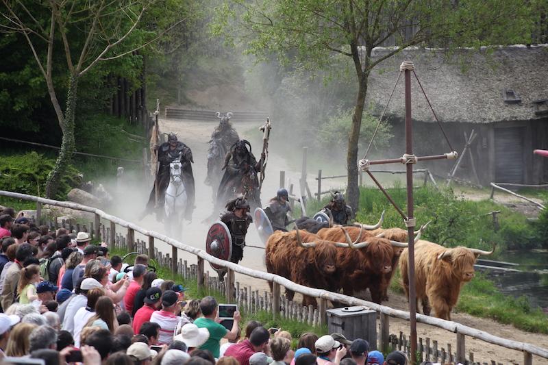 Puy du Fou vikingen themapark achter de schermen