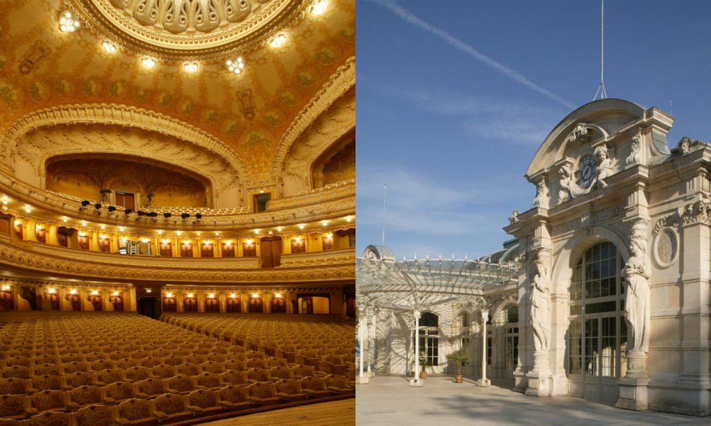 bezienswaardigheden Auvergne originele opera Vichy