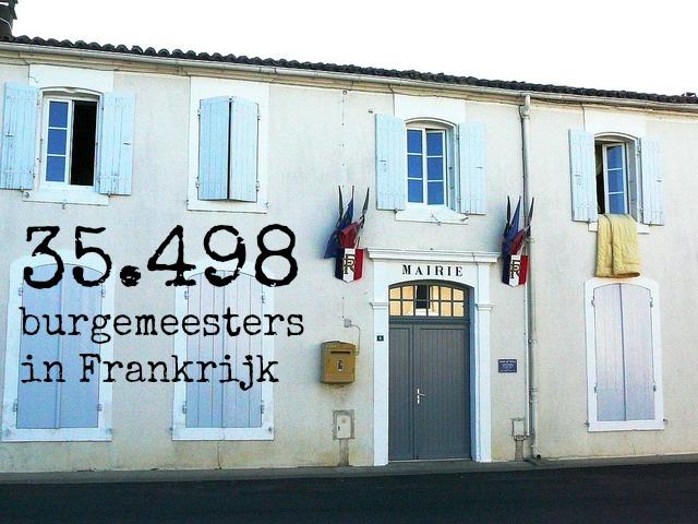 burgemeesters cijfers Frankrijk