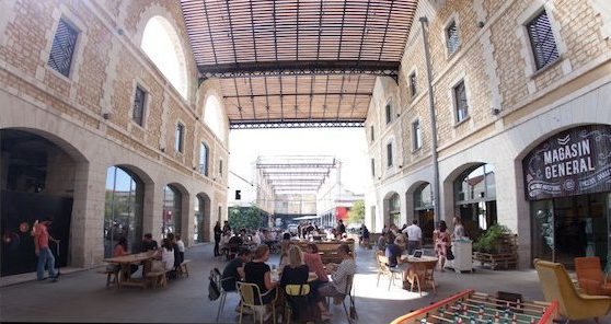 Darwin ontmoetingsplek in Bordeaux