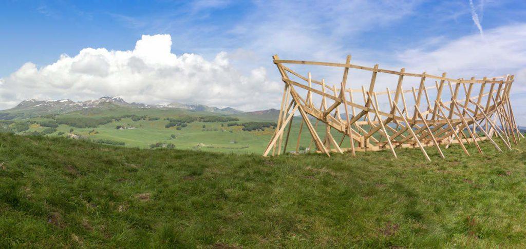 Horizons de Sancy land art kunstfestival Auvergne