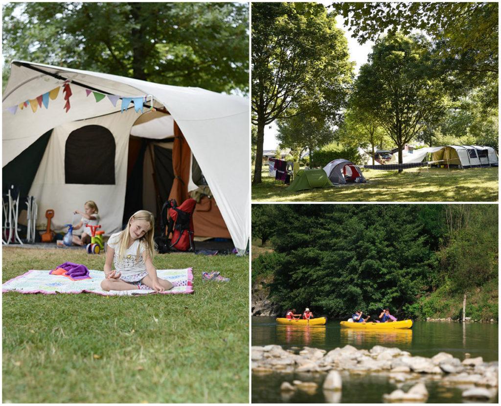 Huttopia camping La Clarée in de Jura