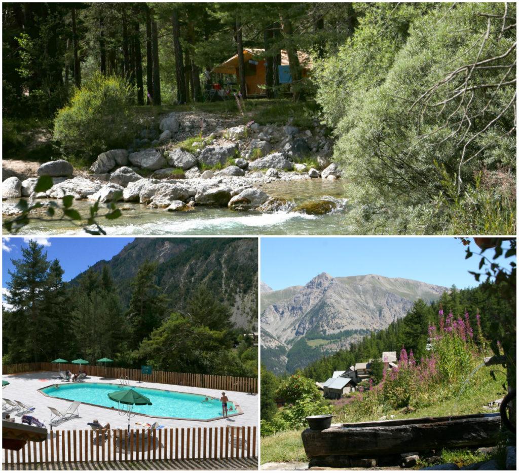 Huttopia-camping in de Alpen Zuid-Frankrijk