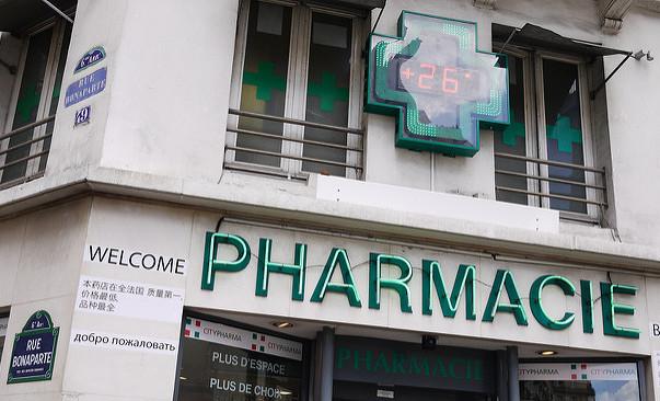 Parijs apotheek goedkope verzorgingsproducten Saint-Germain-des-Prés