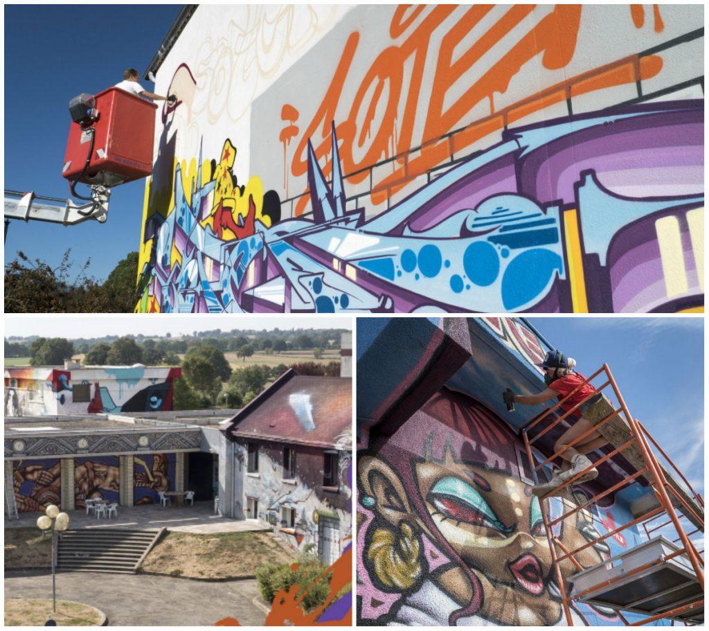 bezienswaardigheden Auvergne Street Art City
