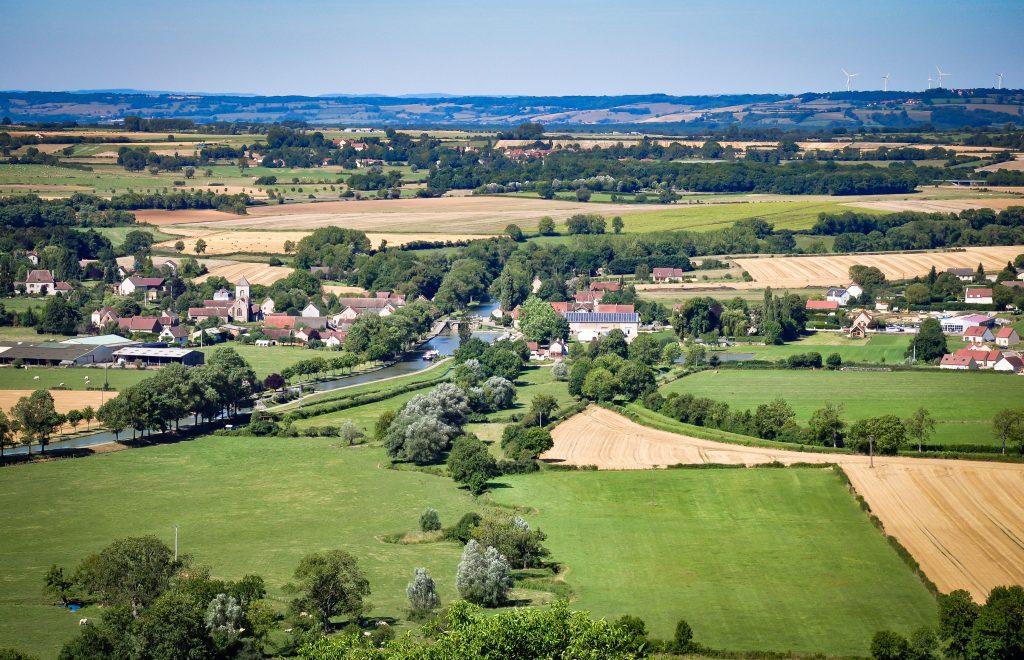 landschap rond Chateauneuf