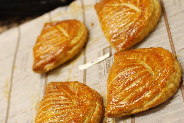 viennoiserie Franse bakker chausson aux pommes