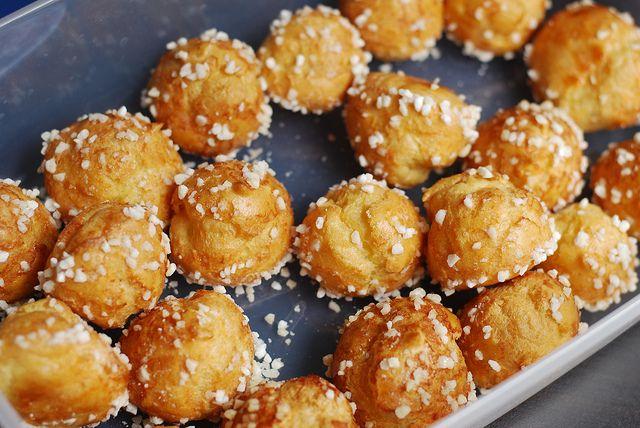 viennoiserie Franse bakker chouquettes