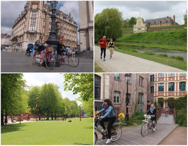 fietsen in Lille