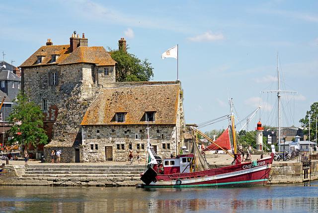 Calvados Normandie Honfleur cc Denis Jarvis