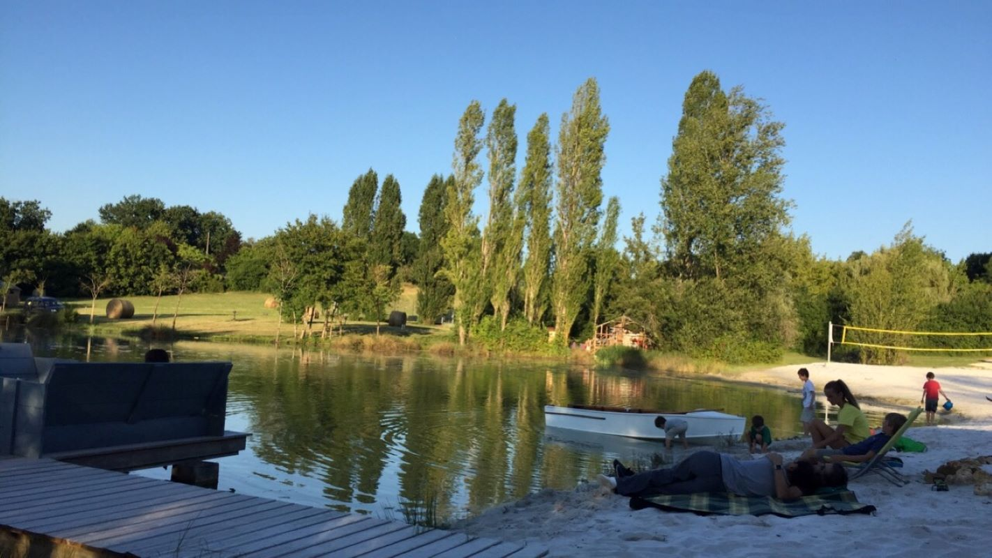 Camping glamping La Parenthese Les ormes