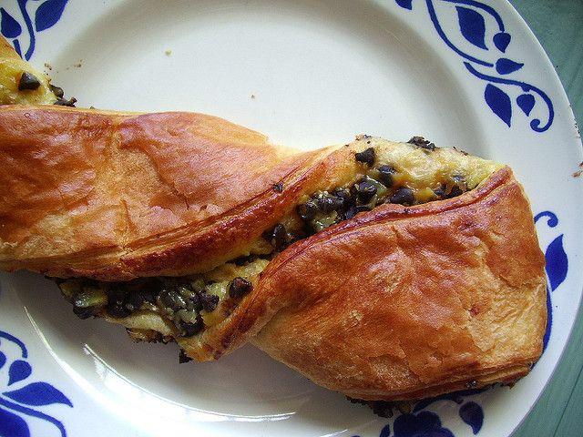 viennoiserie Franse bakker pain suisse