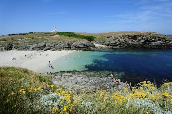 Belle Ile-en-Mer - Le phare des Poulains