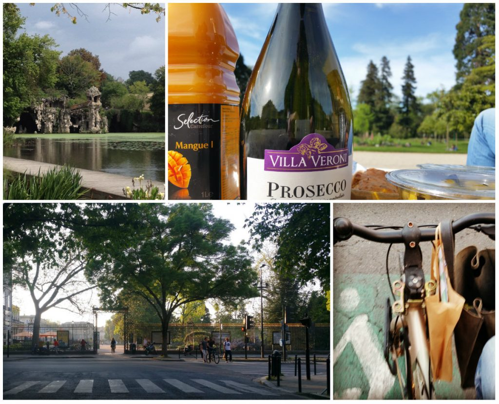 Bordeaux parken Majolan picknick