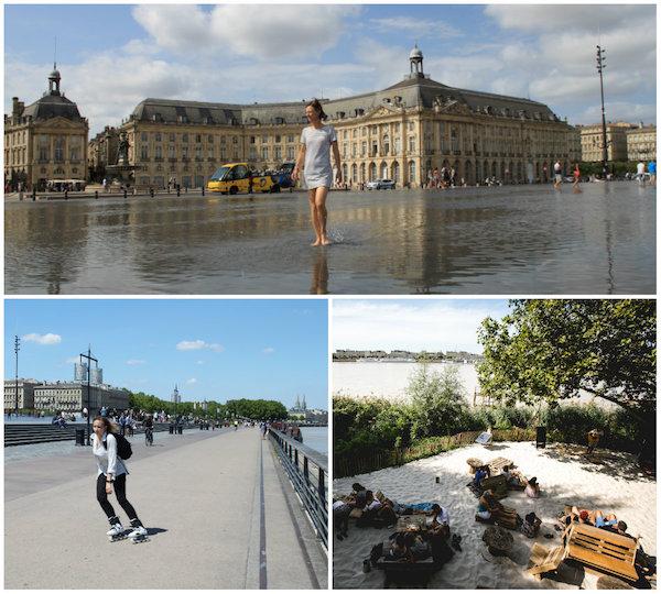 Garonne en miroir d'eau in Bordeaux