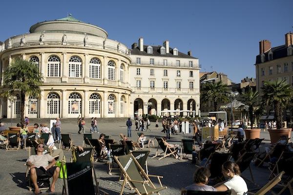 Mooie historische en levendige (studenten)stad Rennes