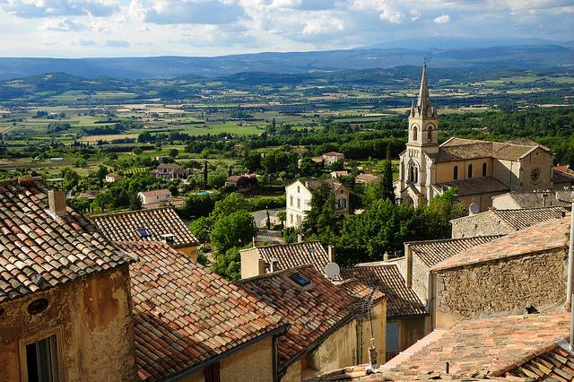 Bonnieux mooiste dorpen van de Provence Luberon