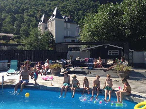 Chateau Serre Barbier vakantieadres Pyreneeen B&B zwembad
