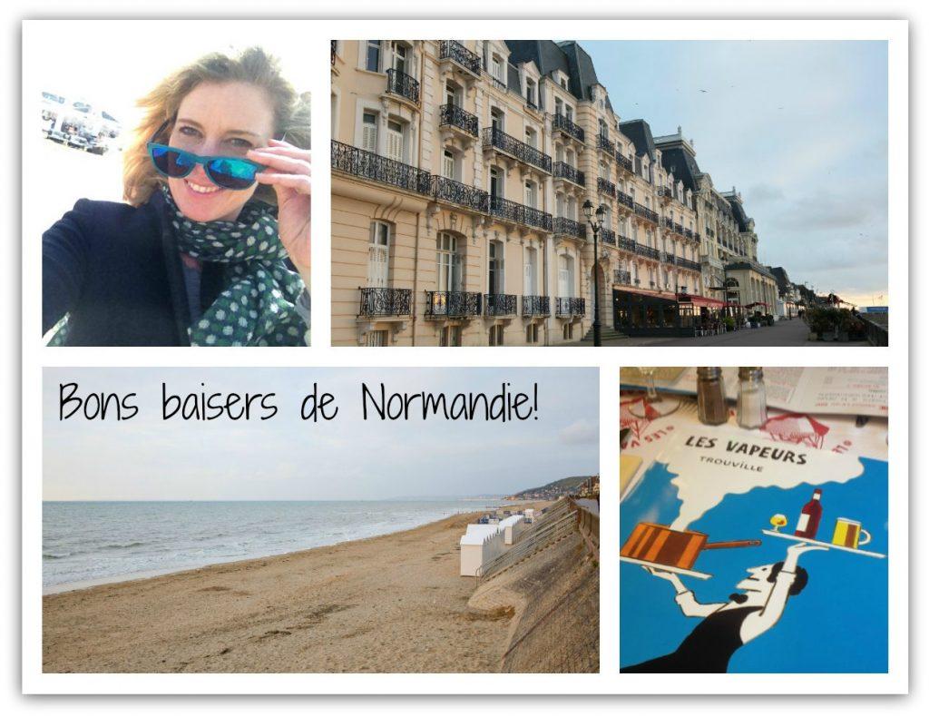Groeten uit Calvados Normandie
