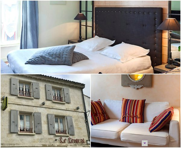 Hotel Central Coulon etappehotel VeloFrancette