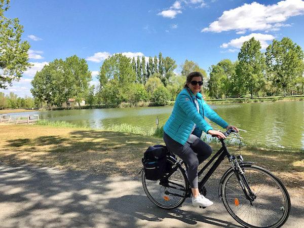 Josee fietst de VeloFrancette