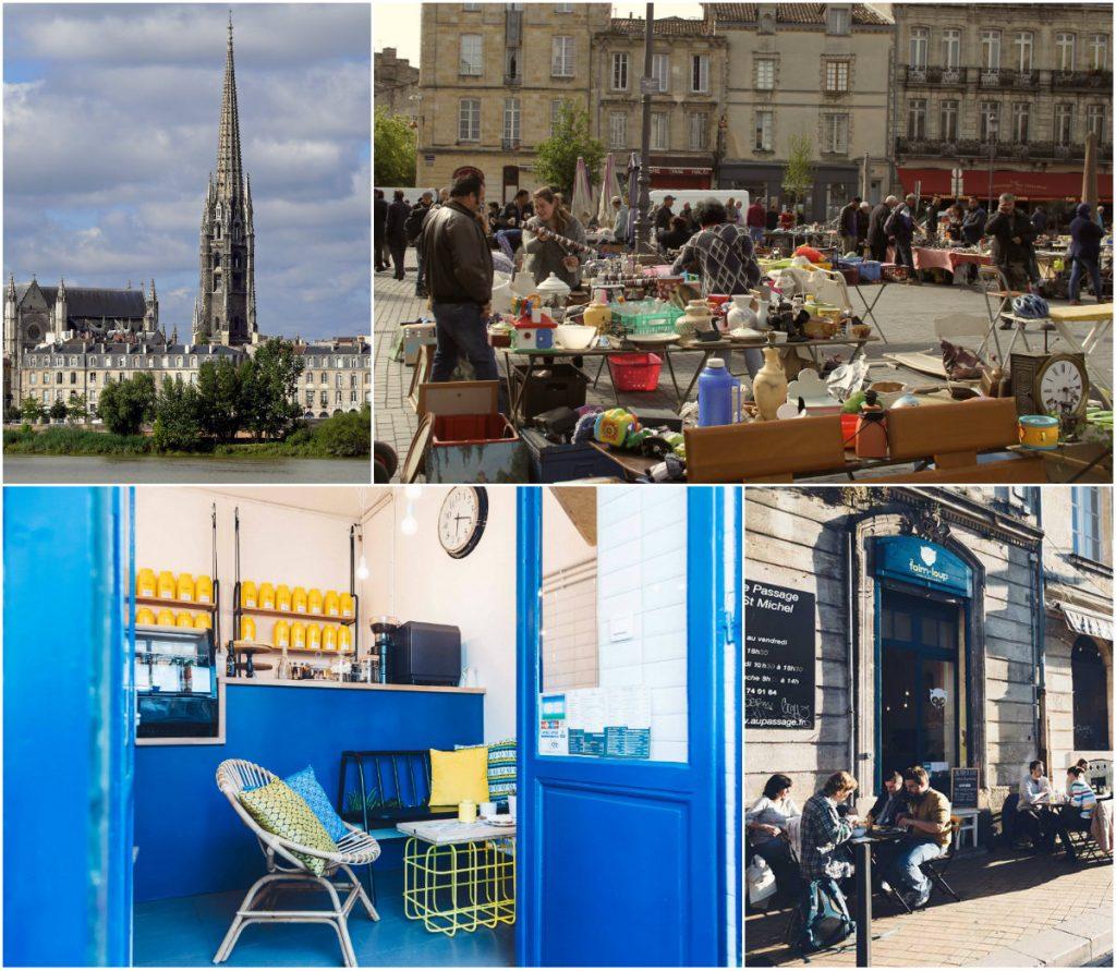 hippe wijk vlooienmarkt fleche kerktoren
