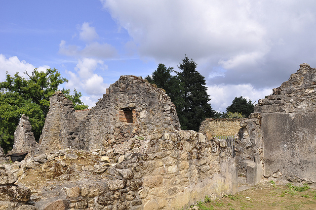 Oradour dorpje in de Limousin WOII monument