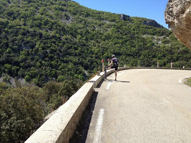 Vaucluse fietsen Route de la Lavande Toulourenc